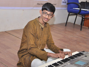 Adhitya Venkatesan 16 Carnatic Keyboard Performance At The Opening Ceremony
