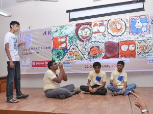 Final Day Play By Adults On The Autism Spectrum Backdrop Art By Participants