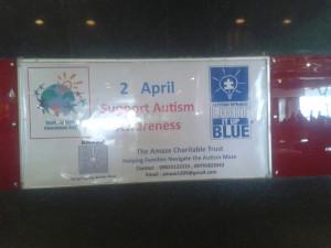 Fun Malll Display For Autism Awareness