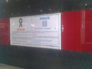 Fun Mall Display For Autism Awareness