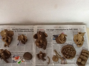 Ganesh-Chaturthi-Ganeshas-made-by-the-children-min